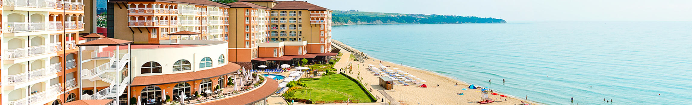 Am Strand gelegenes Hotel in Obzor