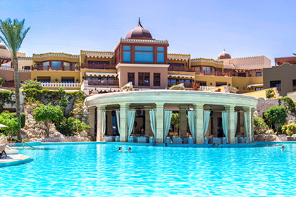 Außenpool des RED SEA Hotels Makadi Palace