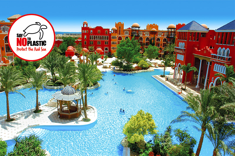 The Grand Resort Hurghada Hotel Außenanlage