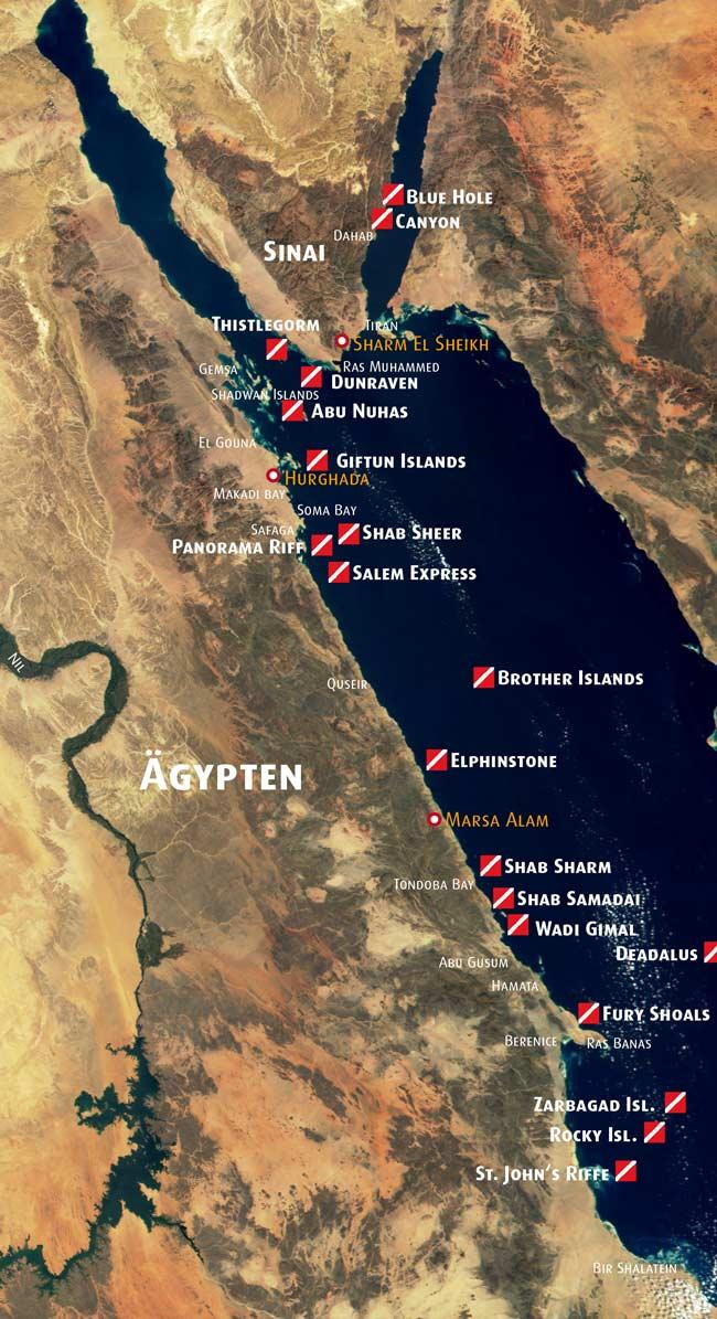 Makadi Bay Karte.Tauchsafaris Im Roten Meer Mit Eti